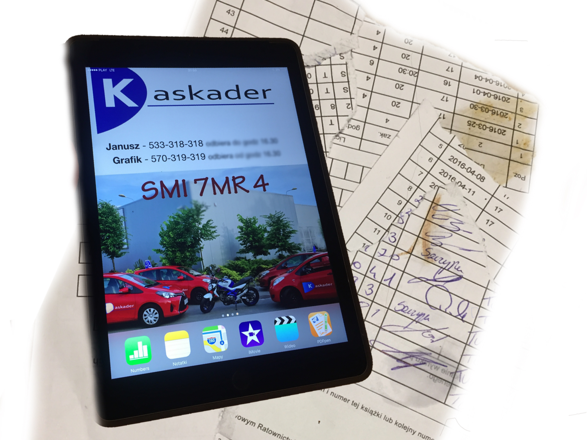 kaskader tablet